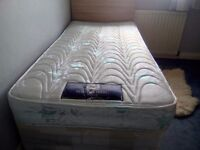 Single bed headboard ,storage very good condition mattress if wanted £250