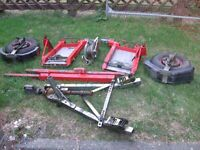 intertrade towing dolly used condition sold as seen no offers thankyou