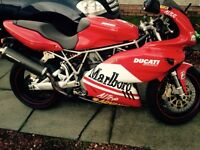Rare Ducati Supersport 1000 with Ducati Remus carbon High cans