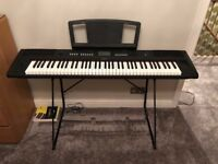 Yamaha NV-P80 76-key Electric Piano with Power Supply and Stand
