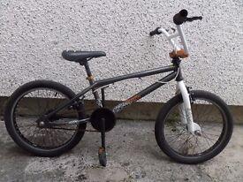 bike black bmx 20''hustle