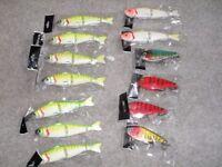 Pike Fishing Lure Joblot