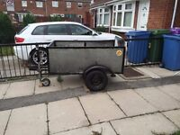 Car/Van Trailer Brand New Tyres and Lighting. Excellent condition. Call 07724600644