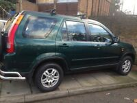Honda crv 2002 auto very good condition and drives very smooth with full service history+ year mot