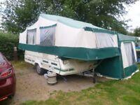 pennine pullman 535se trailer tent/folding camper