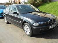 BMW 318i SE 1.9 petrol '01 AUT, LEATHER, MILEAGE 66k ONLY!