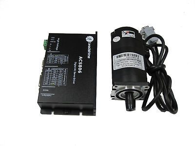 Leadshine 400w Brushless Ac Servo Set Drive Motor