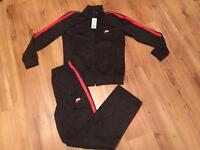 Black & Red Limitless Tracksuit Brand New Size XL