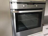 AEG built in single oven