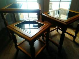 Beautiful Trio of Occasional Tables