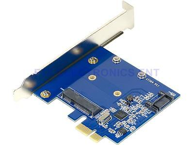PCI-E to mSATA SSD+SATA3 Combo Expansion Converter Adapter PCIe to SATAIII  Card