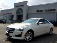 2014 Cadillac CTS Luxury AWD Leather Nav Pano Sunroof 17 Alloys