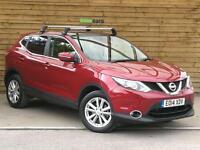 Nissan Qashqai 1.2 DiG-T Acenta Premium 5dr SAT NAV (magnetic red) 2014