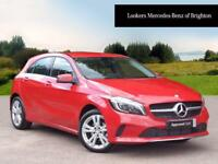 Mercedes-Benz A Class A 180 D SPORT PREMIUM (red) 2017-07-31