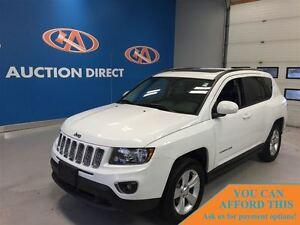 2015 Jeep Compass SPORT LEATHER! SUNROOF! 4X4! FINANCE NOW!!