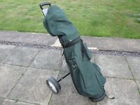 Full golf set. Ideal for xmas. Clubs. Balls Trolley. Bag. Comes with free set of 3 irons