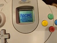 Sega Dreamcast console Bundle 6 games , VMU , Vibration pack(NEW) , Retro gaming, collection