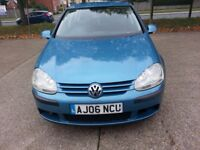 2006 VOLKSWAGEN GOLF SE FSi 1598cc Petrol 6 Speed 5 Door, Long MOT. CHEAP PRICE.
