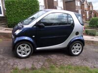 Smart City Coupe, Leather heated seats, 12 months MOT, Full engine service, immaculate condition