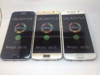 SAMSUNG GALAXY S6 SIMFREE GRADE A LIKE NEW COMES WITH CHARGER AND THREE MONTHS WARRANTY