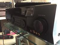 Kenwood KRF-7030D Audio Video Surround Receiver - Has MM Phono input + Generic Remote