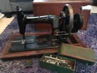 Naumann Vintage Sewing Machine