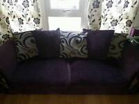 3 Seater Sofa bed And 4 seater sofa