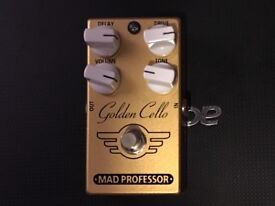 Mad professor golden cello delay and Distortion pedal