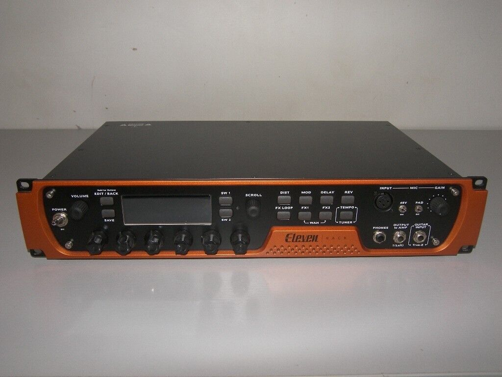 AVID / Digidesign Eleven Rack with Expansion Pack. Effects Processor for Guitar , Bass and Vocal.
