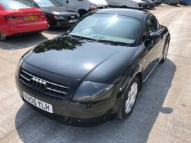 Audi TT, Black, 1.8 Turbo, 180PS, LOW MILEAGE 57000.