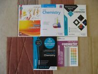 FIVE HIGHER CHEMISTRY STUDY AND REVISION BOOKS