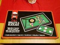 Brand new Roulette and blackjack game