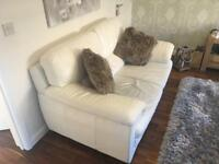 Sofas 3 seater, 2 seater and chair.