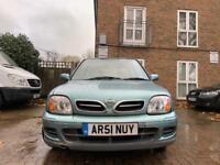 Nissan Micra 1.0 2001 New Mot bargain