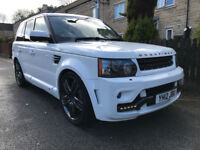 2012/12 RANGE ROVER SPORT HSE OVERFINCH 3.0 SDV6 [260] 8G ZF AUTO FUJI WHITE PX SWAP M5 M3 RS6 RS4