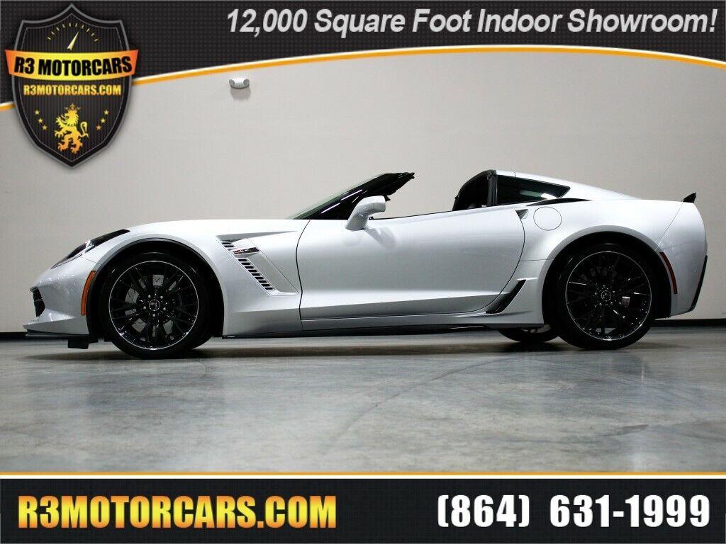 2017 Silver Chevrolet Corvette Z06 2LZ   C7 Corvette Photo 1