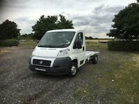 FIAT DUCATO 2.2 JTD Multijet 30 Chassis Cab 2dr Diesel Manual (MWB) (100 bhp) (white) 2010