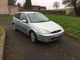 05 Ford Focus 1.6 edge 3 doors long mot full service history main dealer low insurance n tax £595