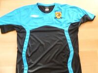 HULL CITY TRAINING TOP VERY GOOD CONDITION