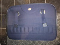 30 inch wide Compass Navy Blue Suitcase Brand New - no tags