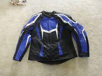 Ladies' motorbike jacket Oxford Valencia Waterproof Size 14