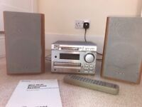 Sony stereo with mini disc, CD and radio functions