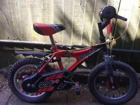 "Boys bike 14"" wheel excellent condition"