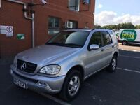 Mercedes Benz M Class Automatic Diesel Good Runner with history and mot