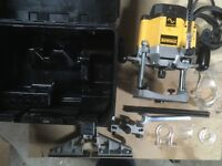 Dewalt Router Used once but Great condition