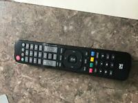 All in one URC 1911 universal remote for LG TVs and other devices