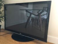 50 inch LG Plasma HD TV in perfect working condition