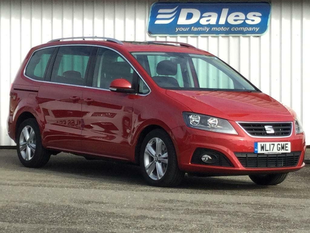 seat alhambra 2 0 tdi cr excellence 184 red 2017 in. Black Bedroom Furniture Sets. Home Design Ideas