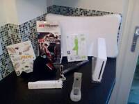 Nintendo Wii with Wii fit, UFC Trainer