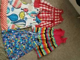 4 x girls dresses
